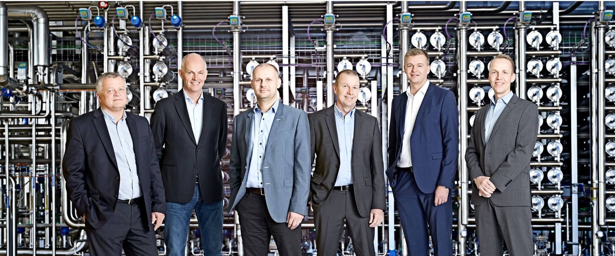 The management at Arla Foods Ingredients