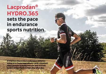 Lacprodan®HYDRO.365 sets the pace in endurance sports nutrition