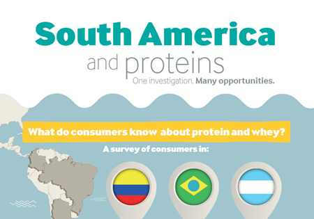 Consumer research South America and proteins - Infographic