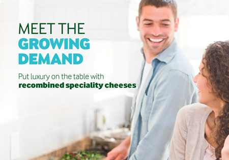 Meet the growing demand - recombined speciality cheeese brochure