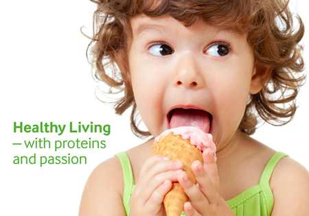 Healthy Living – with proteins and passion brochure